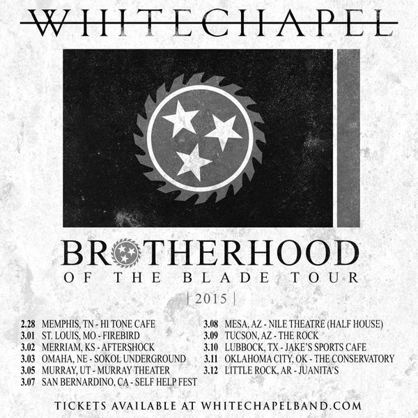 Brotherhood of the Blade Tour