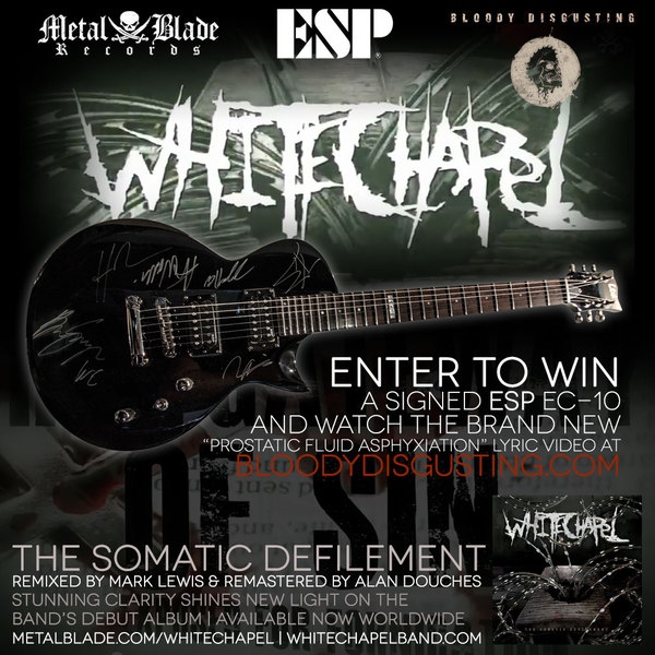 Whitechapel & Bloody-Disgusting Announce Exclusive Contest