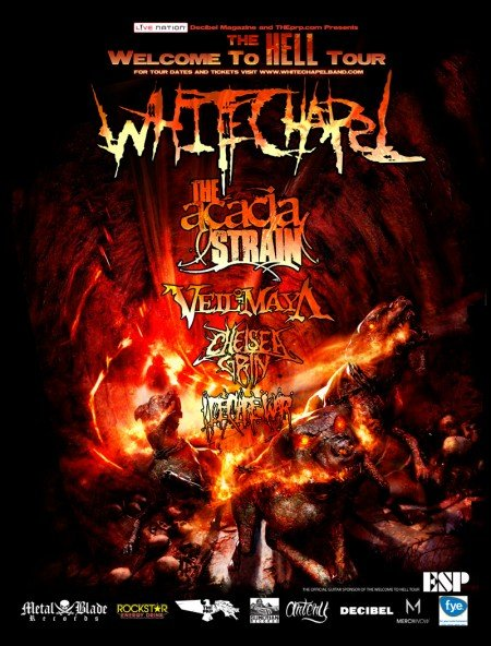 The The Welcome to Hell Tour is almost here!!