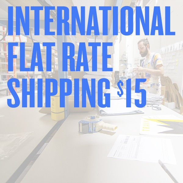 $15 Flat Rate International Shipping