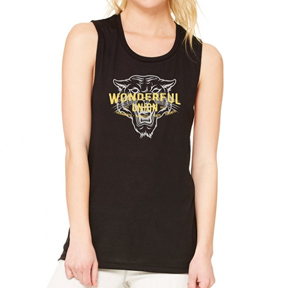 Black Tiger Tank Top image
