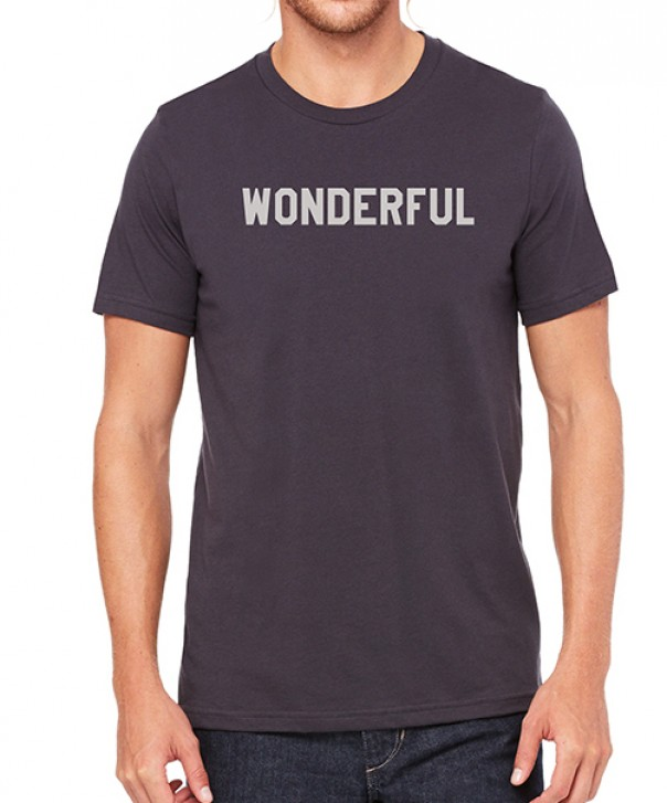 Black Wonderful T-Shirt image