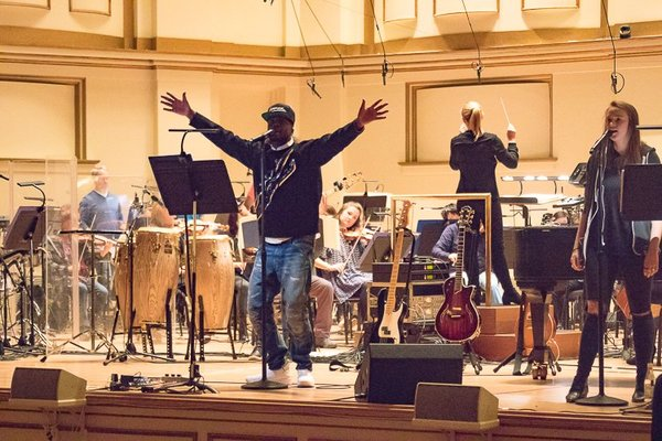 Watch Wyclef Jean freestyle during his rehearsal with SLSO
