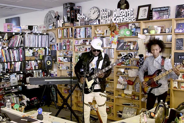 Wyclef Jean's Tiny Desk Concert Shows His In-Your-Face Guitar Skills (Video)