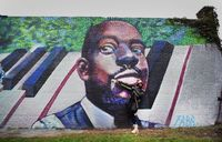 Mural of Wyclef Jean unveiled in Newark