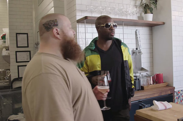 Wyclef Jean Breakdances at a BBQ on 'The Untitled Action Bronson Show' Series Premiere
