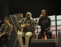 Wyclef Jean visits S. Philly High School to support music education