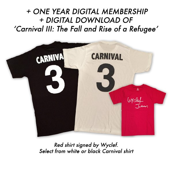 Digital Subscription + Carnival Shirt + Signed Red Shirt