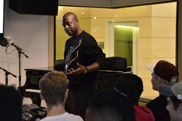 Wyclef Jean Gives Drexel Students Advice — and a Chance to Freestyle
