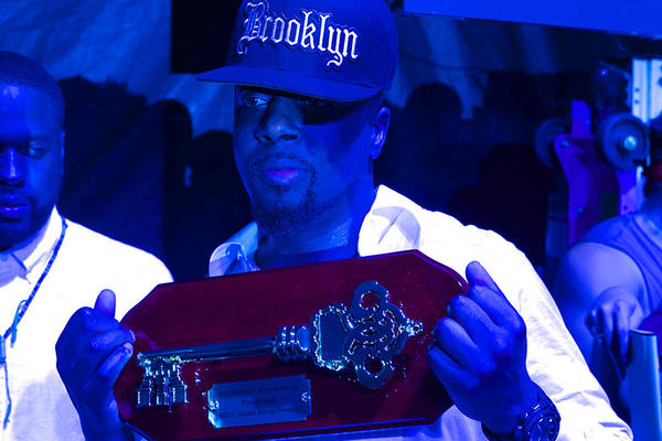 Wyclef Jean Receives Key to the City of Brooklyn